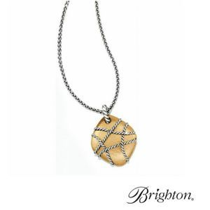 Brighton Pietra Hammered Style Necklace